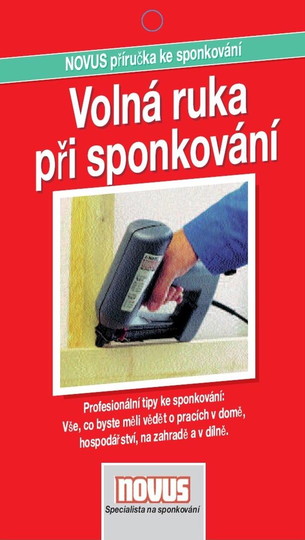 Katalog výrobce sponkovaček NOVUS GmbH